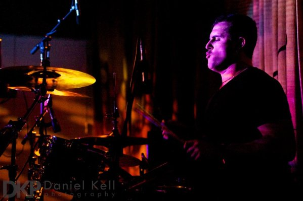 Mark Spiteri drumming